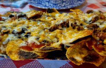 Los nachos de Cantina Guadalajara