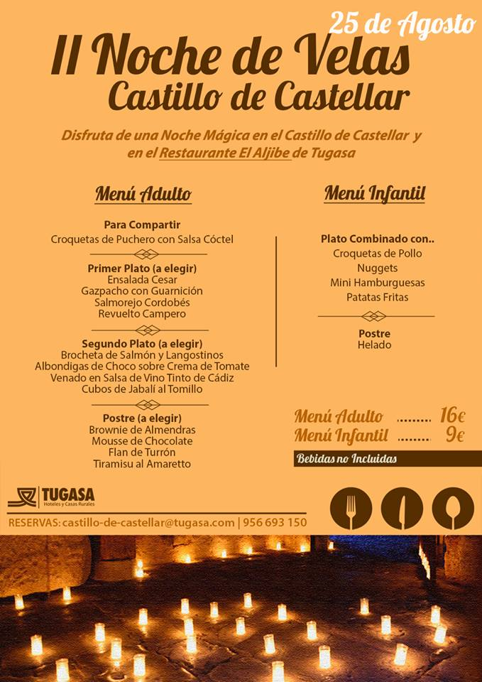 Noche Velas Castillo de Castellar