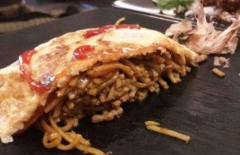 La tortilla rellena de tallarines de Oishii Jerez