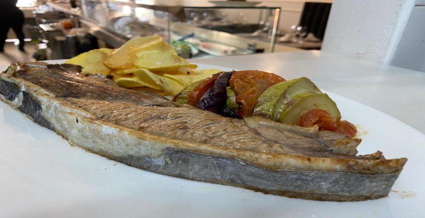 La parpatana de atún del Restaurante La Sal