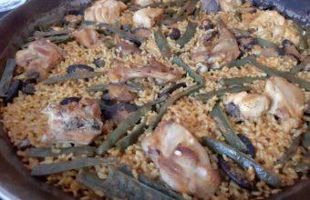 La paella de Ché Craft Paella