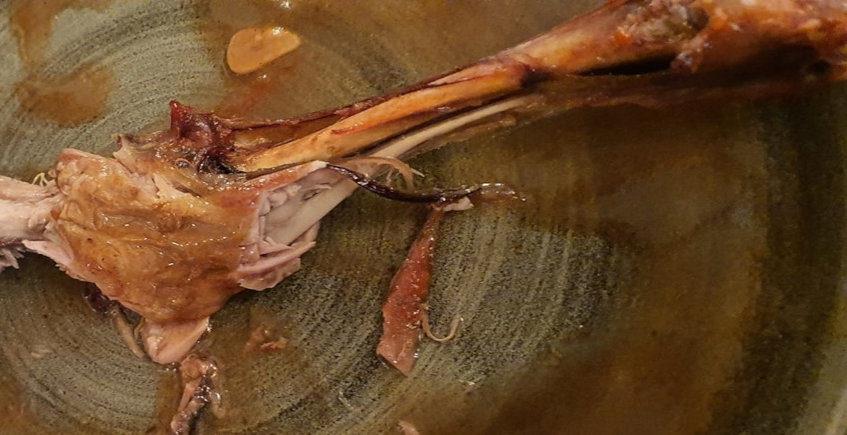 La paletilla de lechazo del restaurante Don Pepe