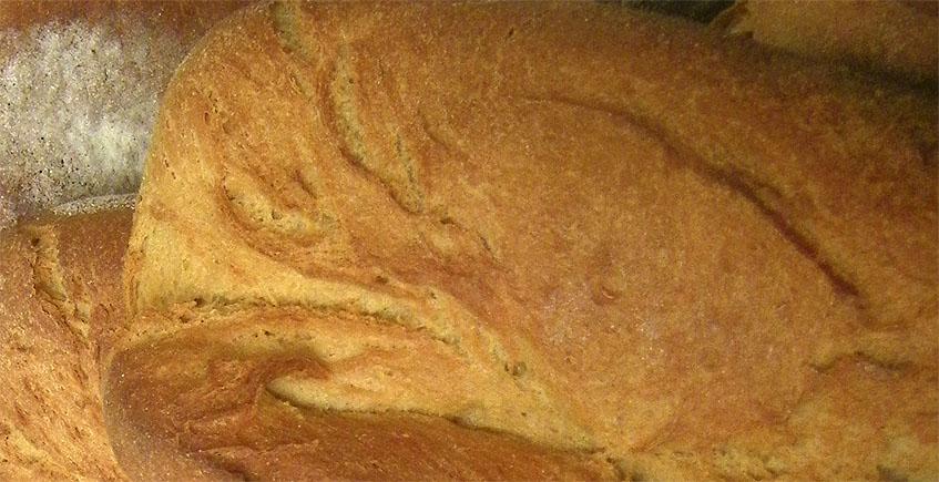 El pan del Horno La Parada