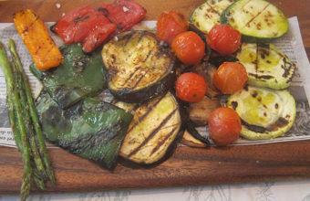 La parrillada de verduras de Salicornia