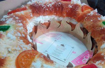 El roscón de Reyes de la pastelería Canas