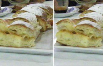 El Roscón de Reyes de la pastelería Sandra