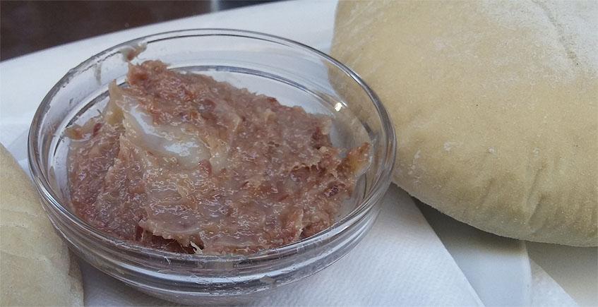 El paté de jamón ibérico de Casa Lazo