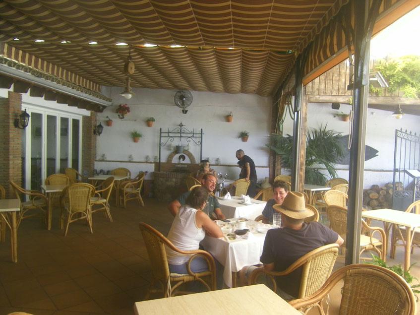 El  patio de Casa Blas. Foto: Cosasdecome