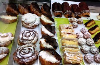 La bollería de la pastelería Pepas