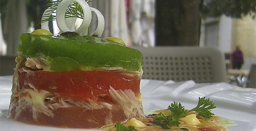 Piriñaca de melva de La Tarifeña… en gelatina