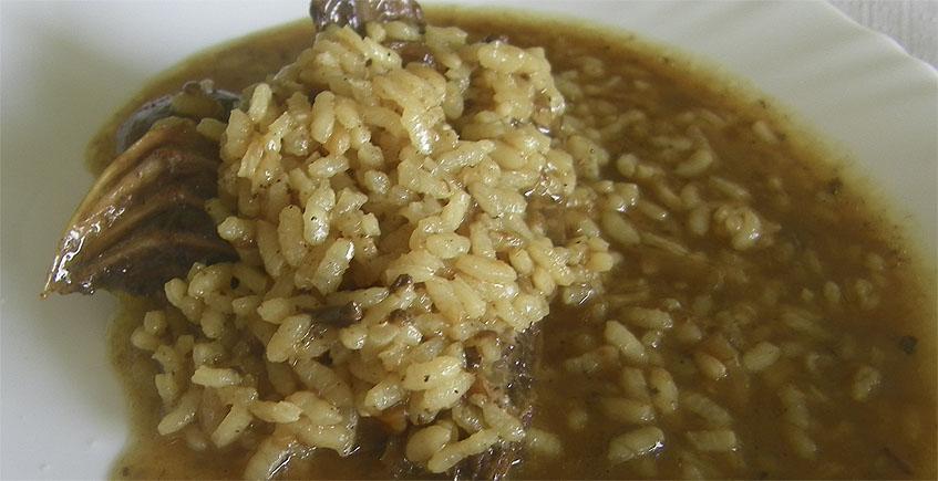El arroz con pato de la Venta La Marisma