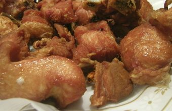 El pollo a la canilla del restaurante La Bodega