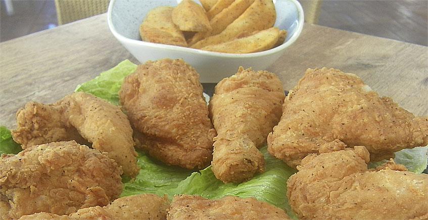 El pollo frito de Pantalán G