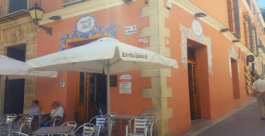 Manzanilla bar Las Palomas