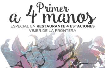 27 de enero. Vejer. Almuerzo degustación a 4 manos con los cocineros Paco Doncel (4 Estaciones) y Julio Vázquez (El Campero)