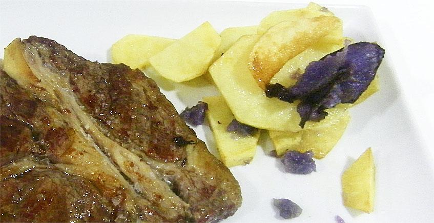 Las carnes a la parrilla del asador El Establo