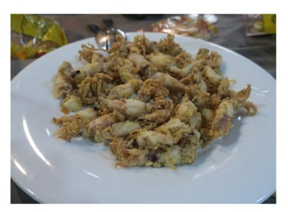 Las puntillitas fritas de Casa El Pengue