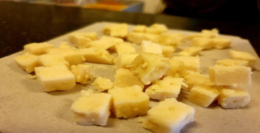 El queso de Ocaña del Tabanco La Pandilla