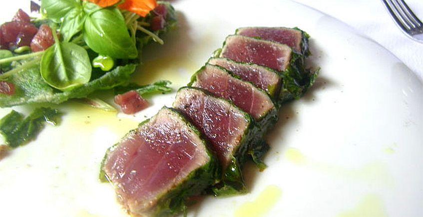 Quinta sinfonía de atún rojo de almadraba de la Venta Melchor