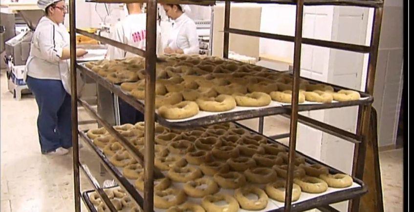 Bollos de Semana Santa de la Panadería Márquez de Arcos