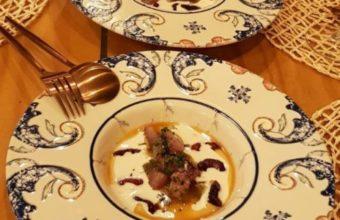 El ajoblanco con anacardos de Ramé restaurante