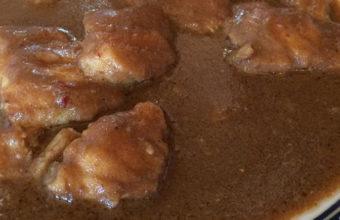 El rape al pan frito del restaurante Poma