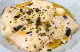Los raviolis de queso con crema de calabaza de Disparate