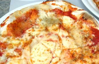 Las pizzas de la trattoria Allora