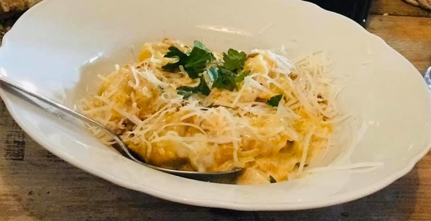 El risotto con espelta y trufa de Alma Verde Café