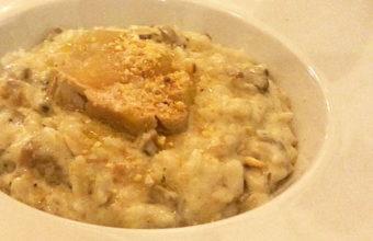 El risotto de setas y foie de El Fogón del Guanche