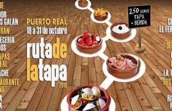 Puerto Real celebra su Ruta de la Tapa del 18 al 31 de octubre