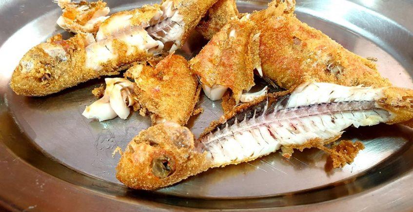 Los salmonetes fritos de Paquito El Adobo