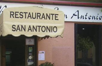 La sopa tomate del restaurante San Antonio