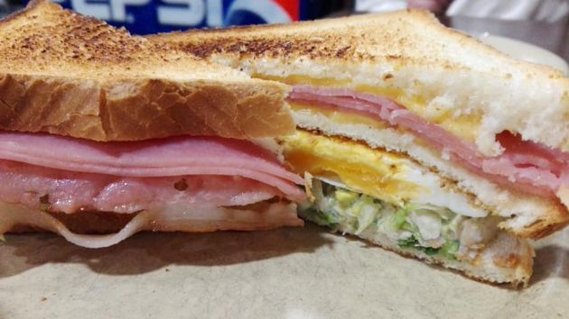 El sandwich club de El Coto del Marqués