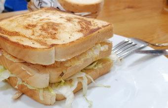 El sandwich de pollo de La Bella Escondida