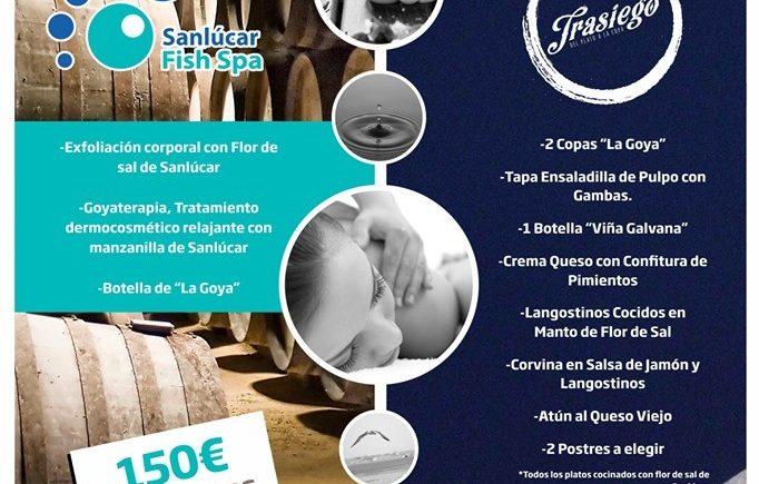 Sesión de spa y menú en Trasiego de Sanlúcar
