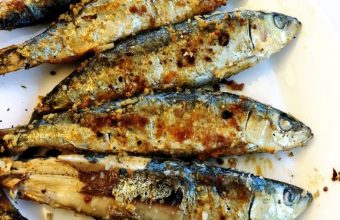 Las sardinas a la brasa del chiringuito Pepa Ulric