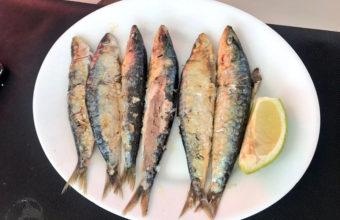 Las sardinas del chiringuito Salvador