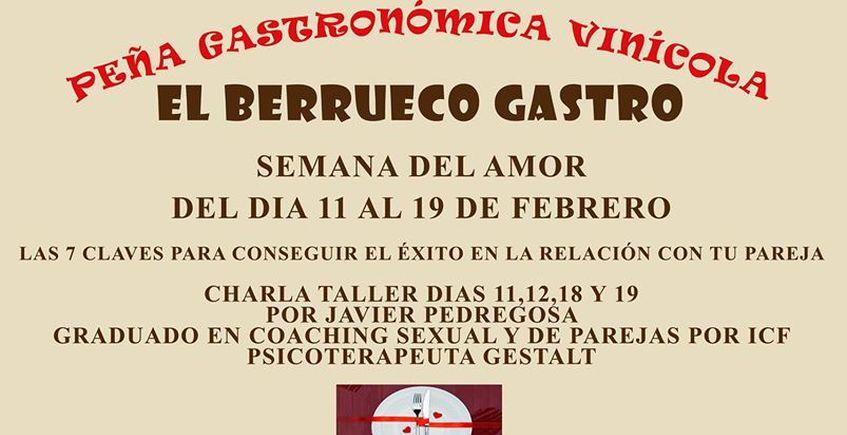 11,12, 18 y 19 de febrero. Medina Sidonia. Semana del amor en El Berrueco