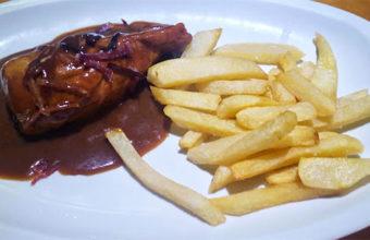 Solomillo ibérico en su jugo del restaurante La Tasca