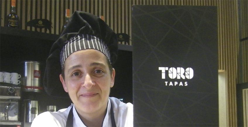 La cocinera Sonia Arjones, autora de este plato. Foto: Cosasdecome