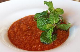 Sopa tomate de Encarnación Cansino de la Venta El Tajón