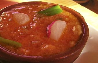 La sopa tomate de la taberna de Juan