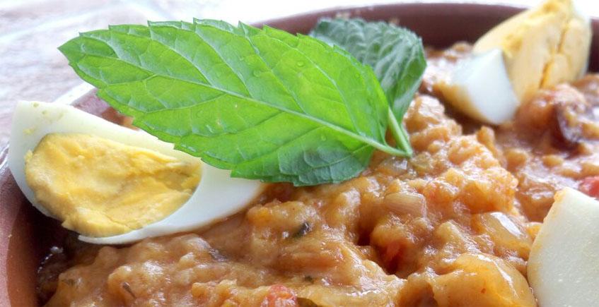 La sopa tomate de la Venta El Albero