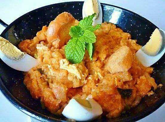 La sopa tomate de el Mesón de María fotografiada por Lorena Villalta.