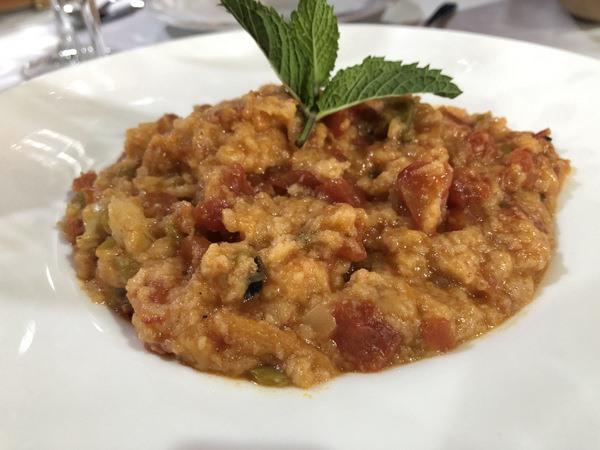 Sopa tomate del restaurante Cádiz El Chico de Grazalema. La foto es de la tapatóloga Angeles Gallego.