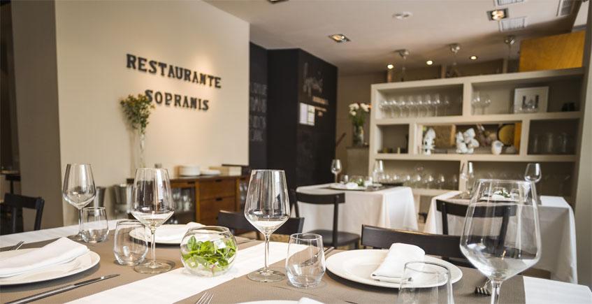 21 de marzo. Cádiz. Menú especial en Sopranis