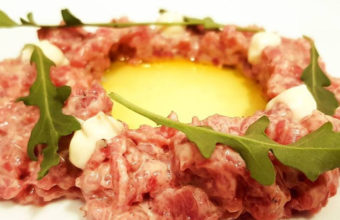 El steak tartar de Caraméló