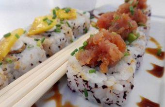 El sushi de Pink Peppers