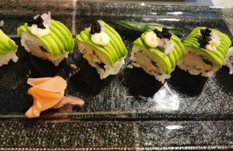 El sushi de atún de la Taberna Argueso